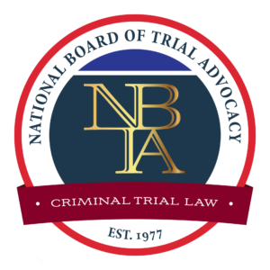 NBTA Criminal Certification Badge